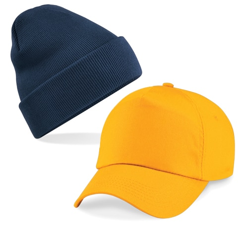 wool hat and cap