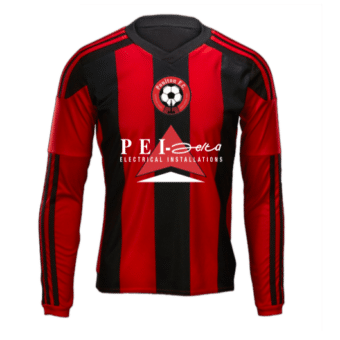 Long sleeve football top