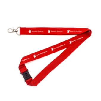 Save the children lanyard