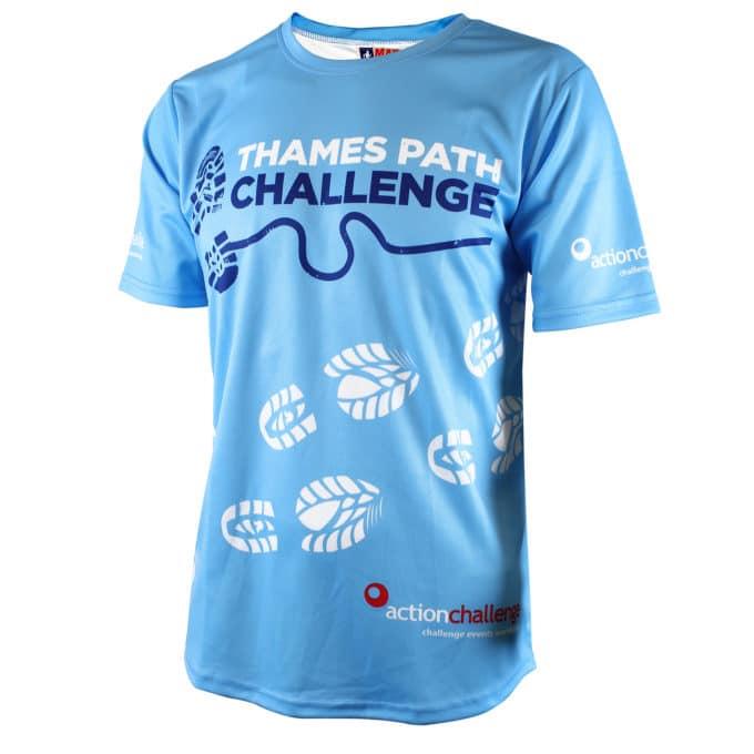 Thames Path Challenge tshirt
