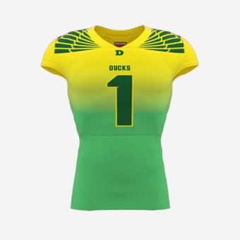Ducks 1 american football tshirt